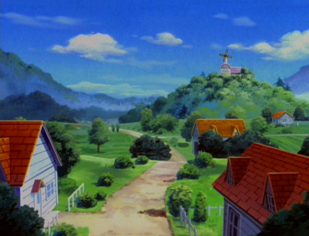Pallet Town anime