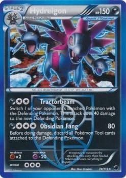Hydreigon Card