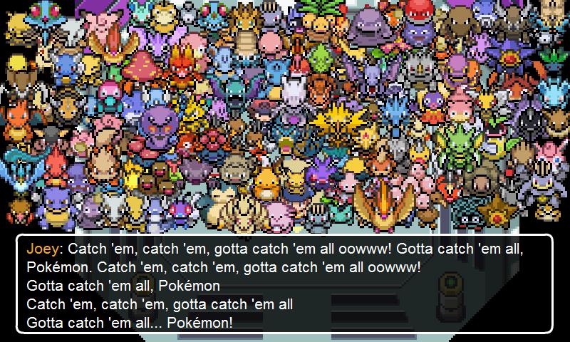 Unknown Pokemon Sprites