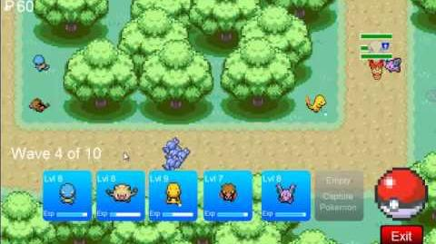 Pokemon Tower Defence - Viridian Forest 1