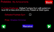 Fuchsia Challenge