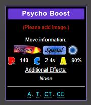 Drag psycho boost
