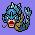 130 elemental flying icon