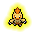 256 elemental electric icon