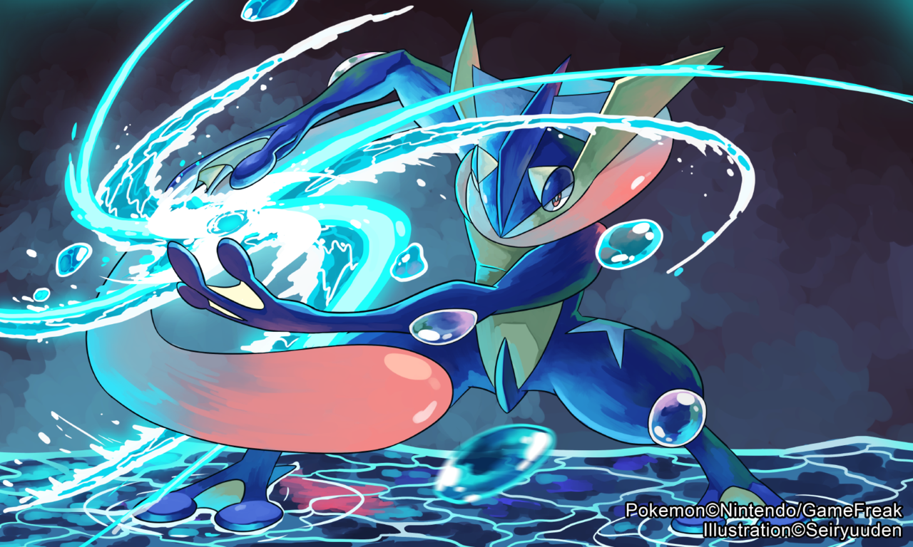 Image Greninja Banner Png Pokemon Tower Defense Two