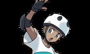 Male Roller Skater