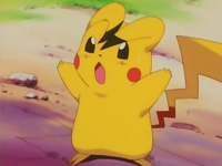 Pikachu as ash