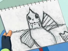 Ash Dewgong Drawing