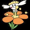 Flabébé Orange Flower Dream