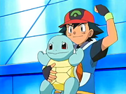 Ash and Squirtle