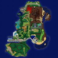 Map Akala Bujna Dżungla