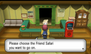 Friend Safari inside XY