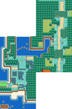 Unova Route 1 Summer BW