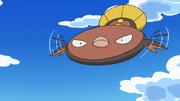Cilan Stunfisk flying