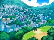 Veilstone City anime