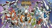 Arceus Multitype Adventures