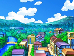 Hearthome City anime