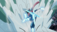 Ash Ash-Greninja Aerial Ace