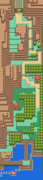 Kanto Route 26 HGSS