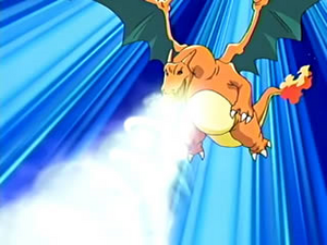 Ash Charizard DragonBreath
