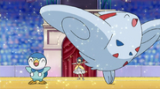 EP646 Piplup Togekiss
