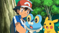 Ash and Froakie