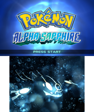 Alpha SapphireTitle