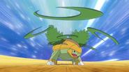 Ash Grotle Razor Leaf