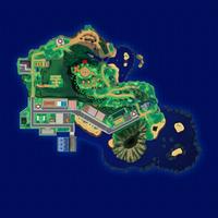 Map Mele-Mele Szlak Mahalo