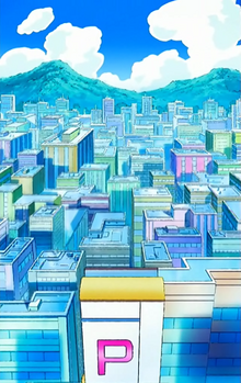 Jubilife City anime