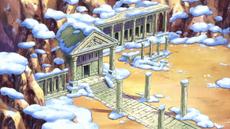 Snowpoint Temple anime