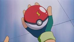 Ash 1st Poké Ball