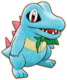 Totodile PMD Rescue Team DX