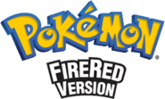 Pokemon FireRed Logo EN