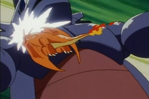 Ash Charizard Take Down