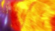 Iris Dragonite Flamethrower