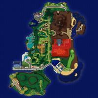 Map Akala Królewska Aleja