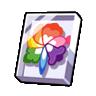 Key Rainbow Flower Sprite