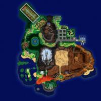 Map Ula-Ula Wioska Tapu