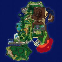 Map Akala Plaża Hano
