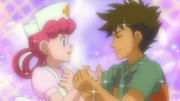 Brock and Nurse Joy