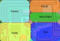 Pal Park Zones