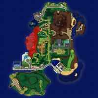 Map Akala Wzgórze Strumienia