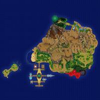 Map Poni Skaliste Wybrzeże Poni