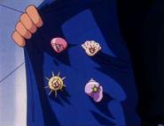 Ash Orange League Badges