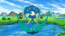 Blue Flower Florges anime