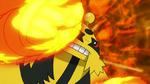 Volkner Electivire Fire Punch