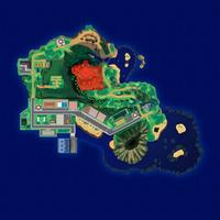Map Mele-Mele Miasteczko Iki