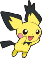 Spiky-eared Pichu DP 1