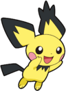 Spiky-eared Pichu DP 1